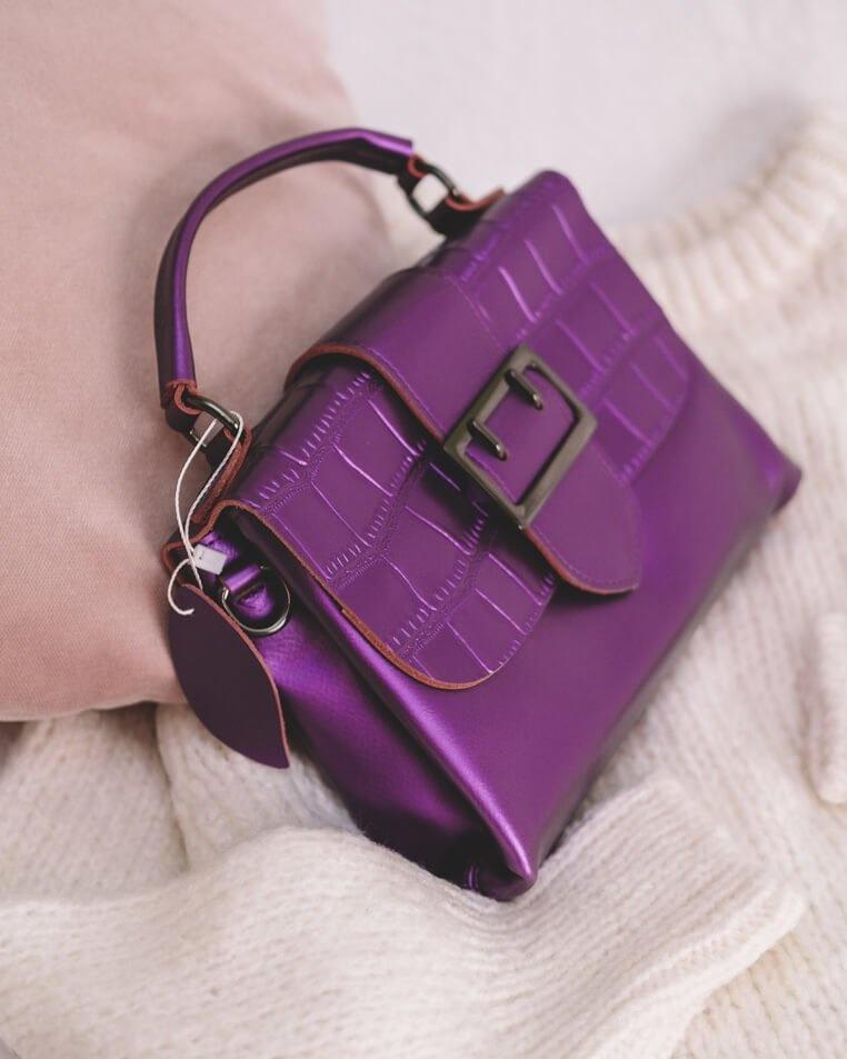 0efa2f96c576 Женская сумка кросс боди из натуральной кожи 200047F - Arefeva ...